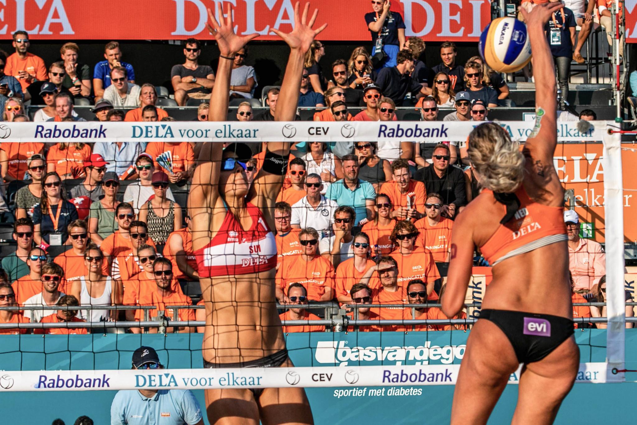 Dutch duo clinch women's title at European Beach Volleyball Championships