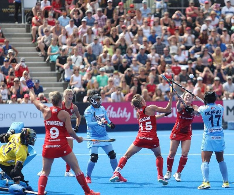 Hosts England held to draw by India on opening day of Women's Hockey World Cup