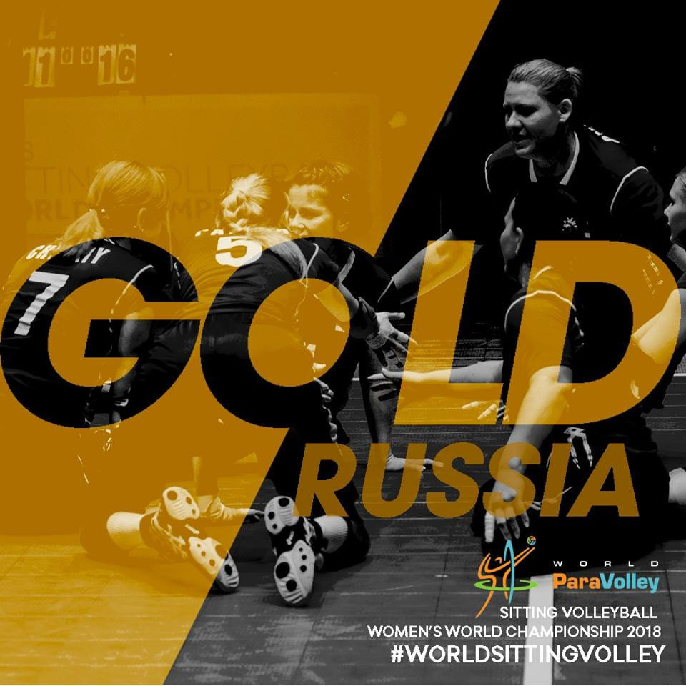 Russia win first ever women's sitting volleyball world title with victory over United States