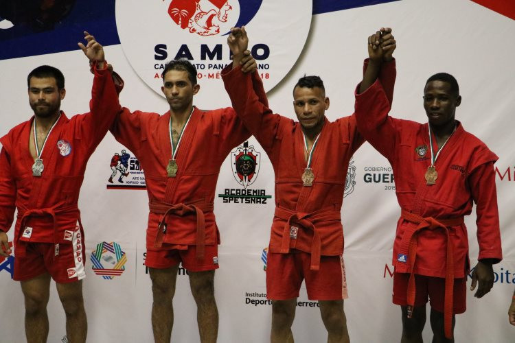 Dominican Republic claim five gold medals on opening day of Pan American Sambo Championships