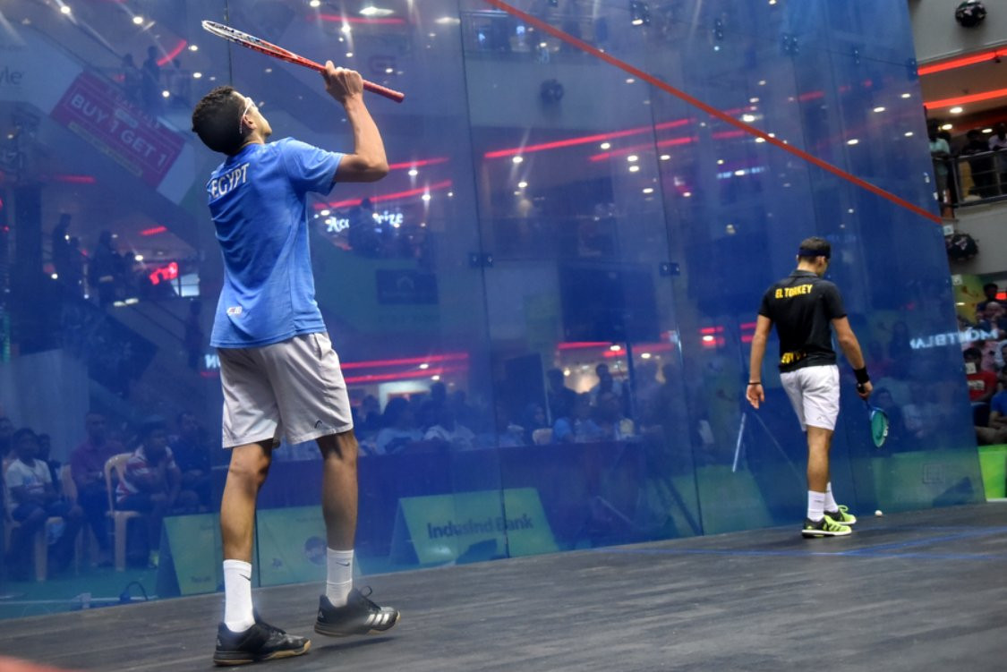 Top seed Tarek survives scare to keep title defence alive at World Junior Individual Squash Championships