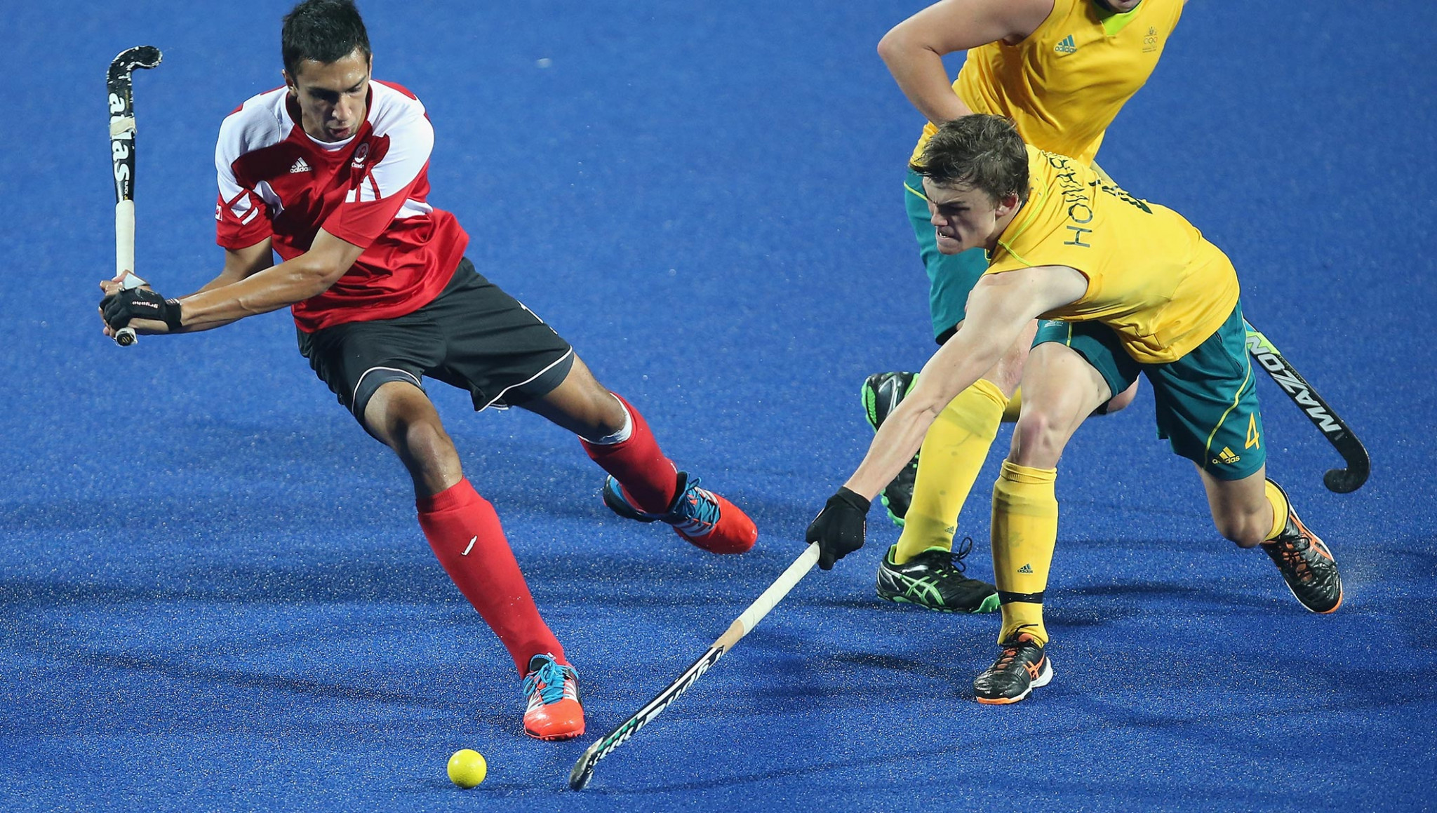 Australia's men won the gold medal when hockey 5s made its debut at the Youth Olympic Games in Nanjing in 2014 having also won at Singapore 2010 when the traditional version of the sport took place ©Getty Images
