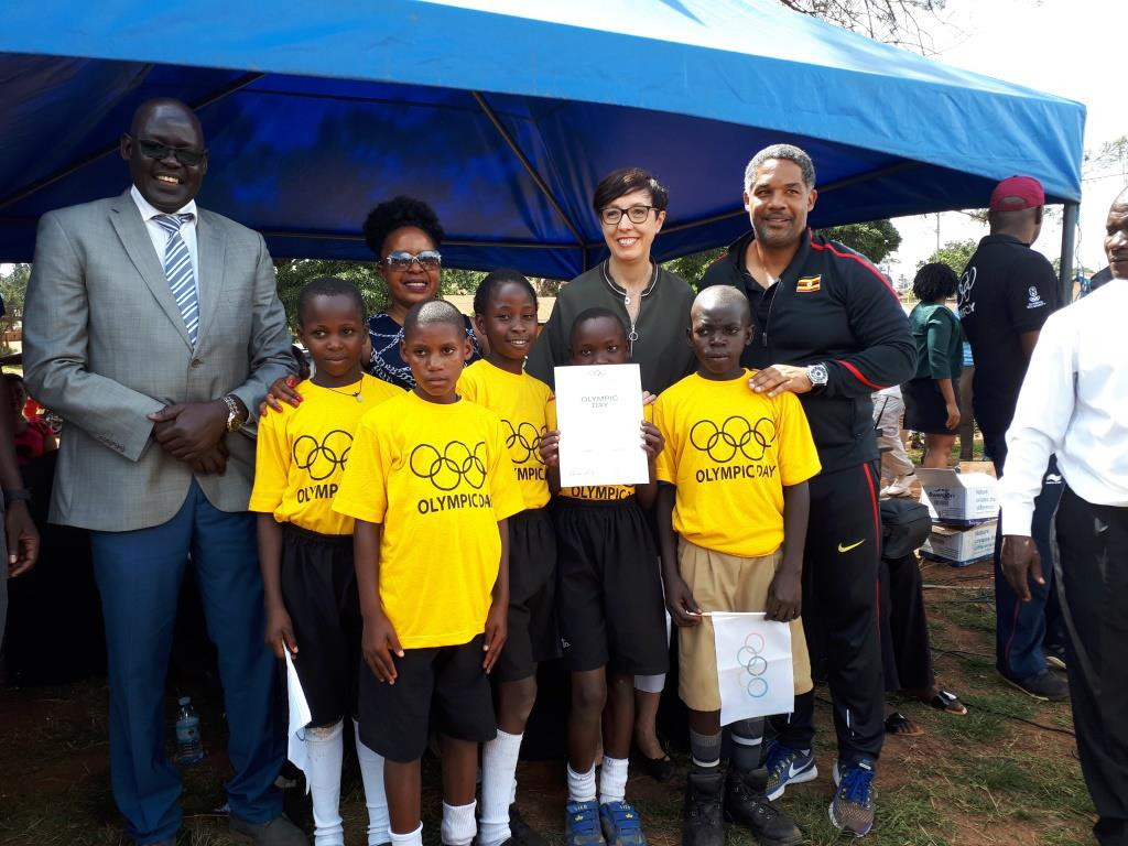 French Embassy promise Uganda Olympic Committee they will help build all-weather sports facilities