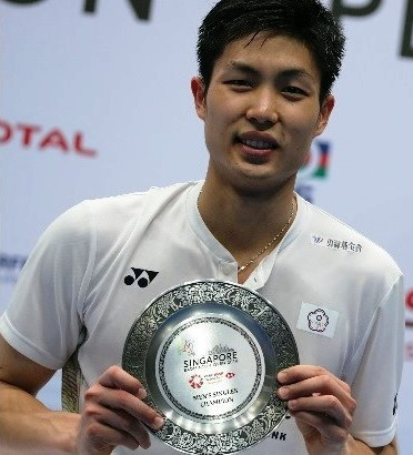 Chou targets World Championships success after victory at BWF Singapore Open