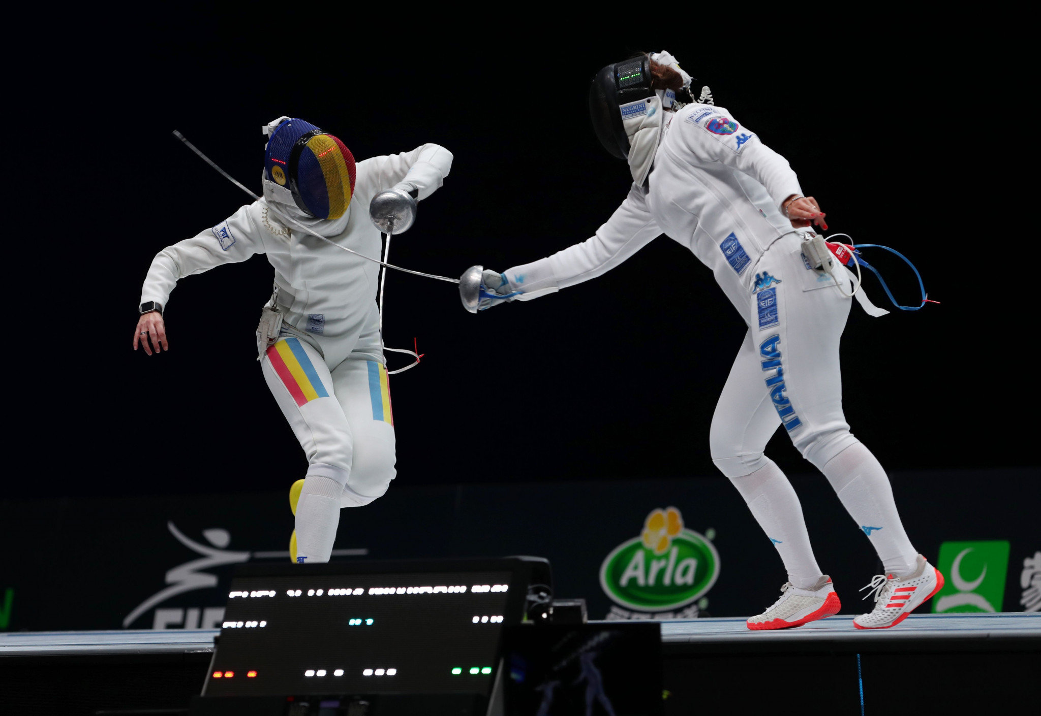 Mara Navarria of Italy also won her first individual World Championships gold medal ©Getty Images