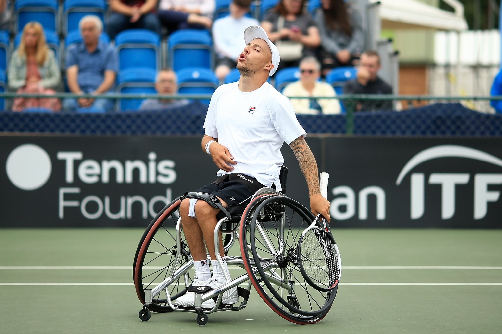 Home favourite loses final at British Open Wheelchair Tennis Championships