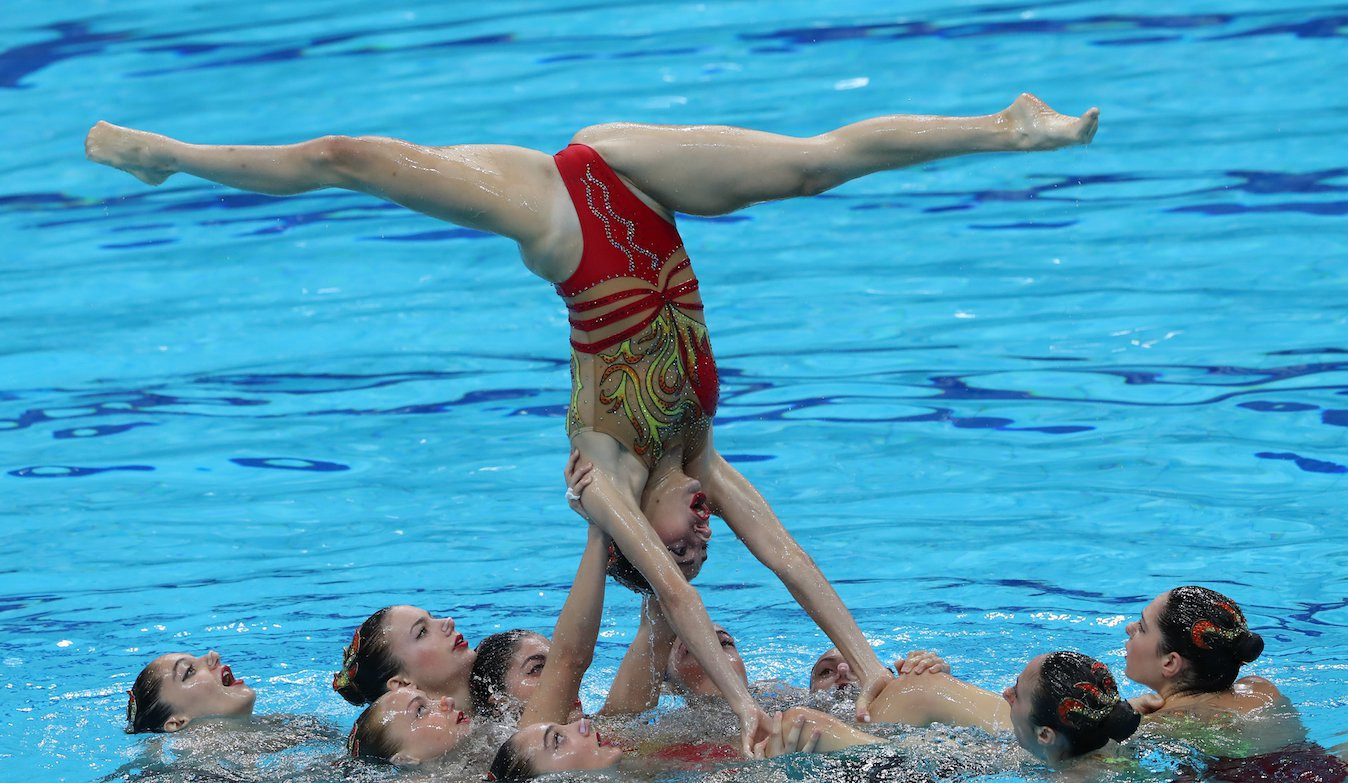 Russia achieve total domination once again at FINA World Junior Artistic Swimming Championships