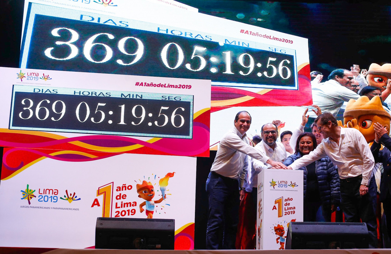 Peru celebrates one year to go until Lima 2019 Pan American Games