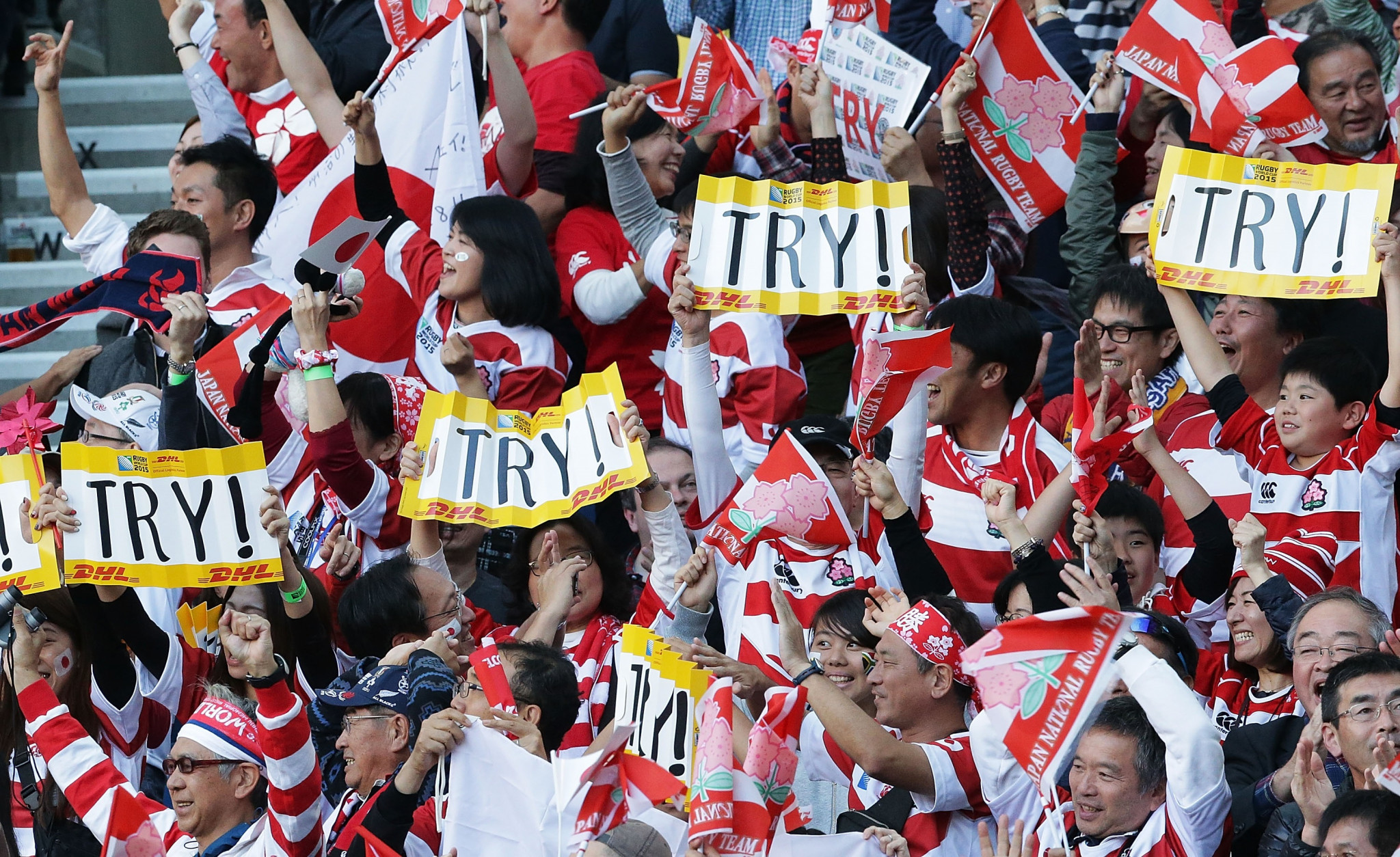 A record number of applications has been made for the Rugby World Cup ©World Rugby