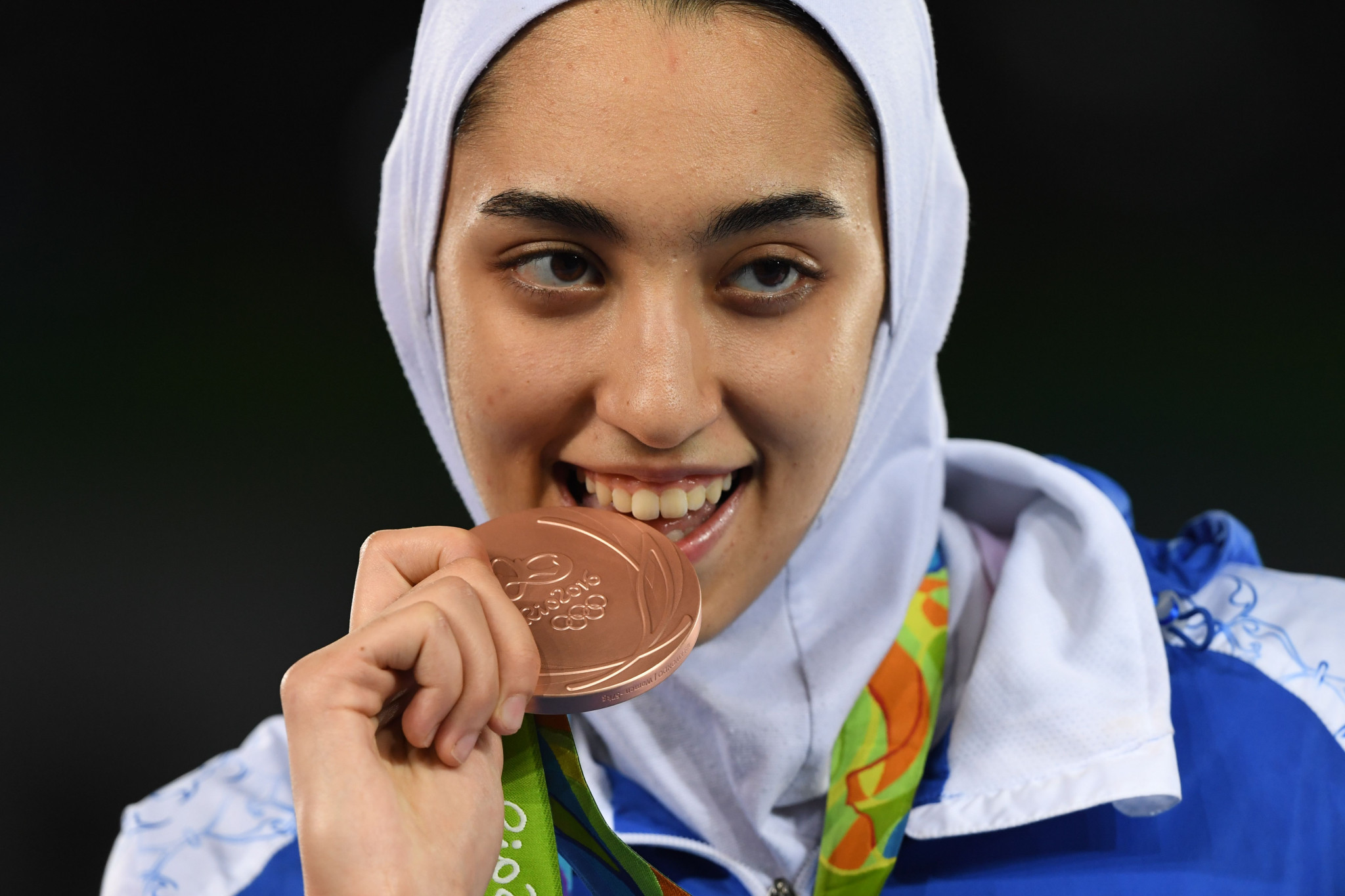 Taekwondo athlete Kimia Alizadeh has been announced as Iran's flagbearer for this year's Asian Games in Jakarta and Palembang ©Getty Images