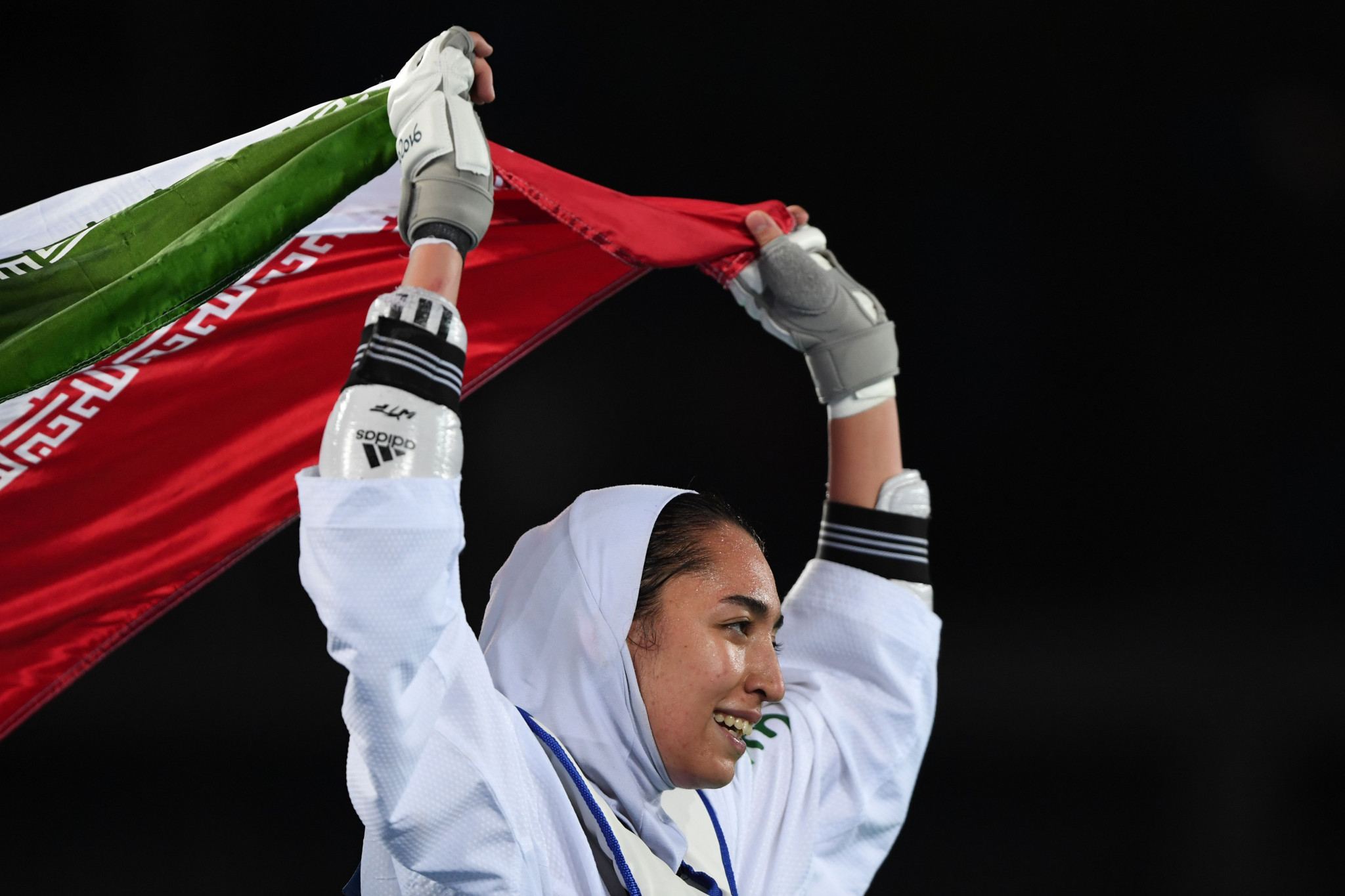Kimia Alizadeh made history for Iran with her Olympic medal ©Getty Images