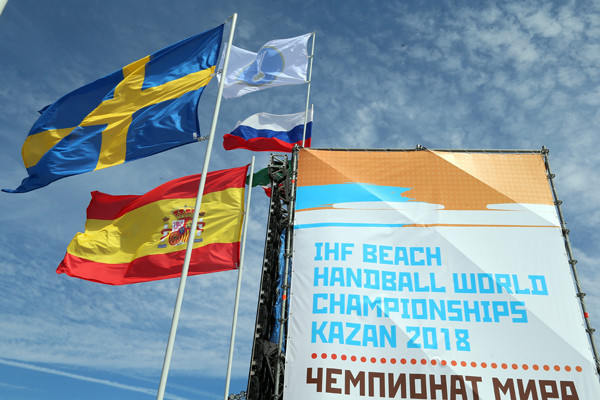 Croatia and Spain out to defend titles with Beach Handball World Championships set to begin in Russia