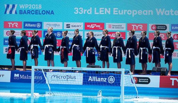Defending champions battle to reach women's European Water Polo Championship semi-finals
