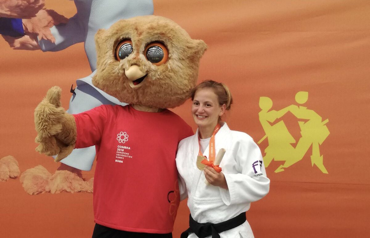 Home success for University of Coimbra as judo finals continue at European Universities Games