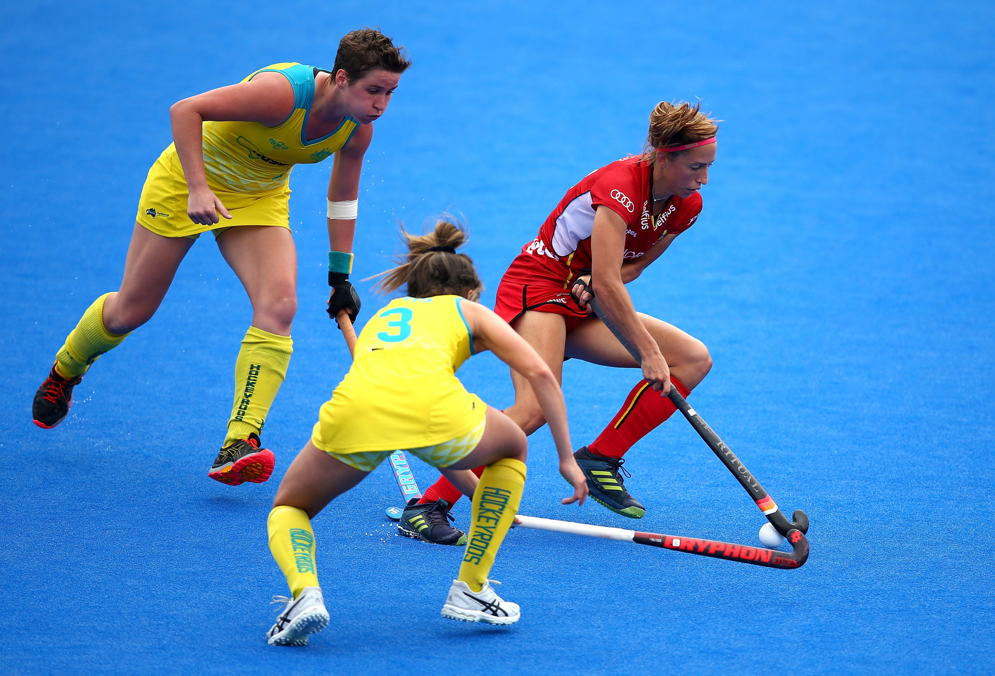Australia and Belgium played out a 0-0 draw ©Getty Images