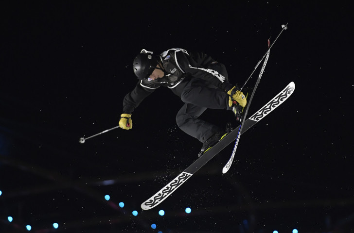 Hugo Burvall from Sweden competes during last November's men's final at the FIS Freestyle World Cup Big Air in Milan - which will take place this November in the new venue of Modena ©Getty Images