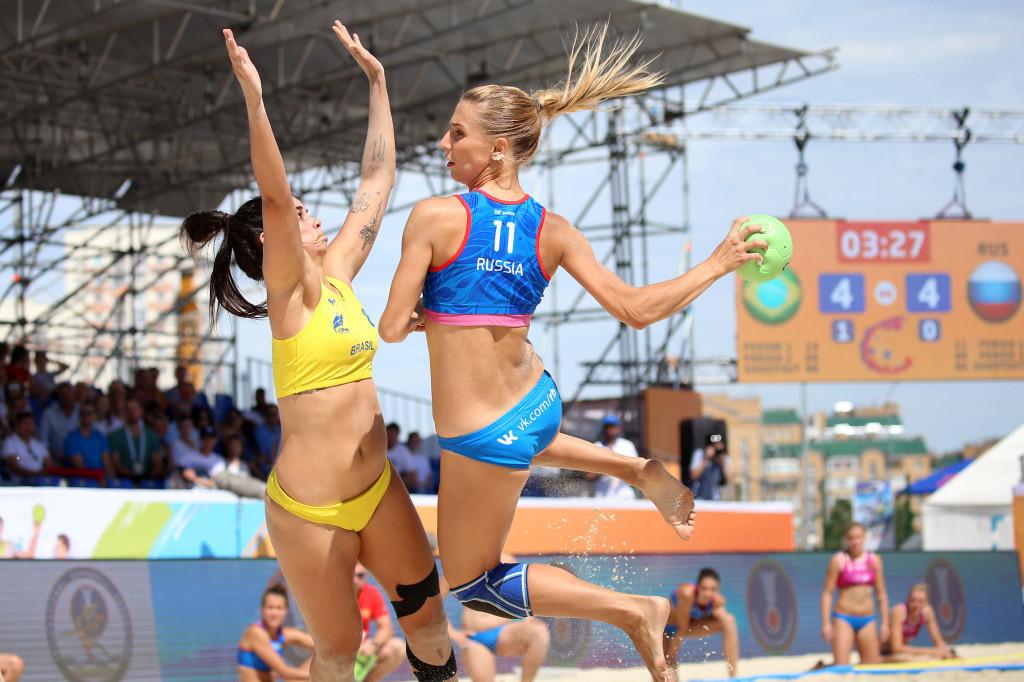 Holders Croatia begin Beach Handball World Championships with pair of wins