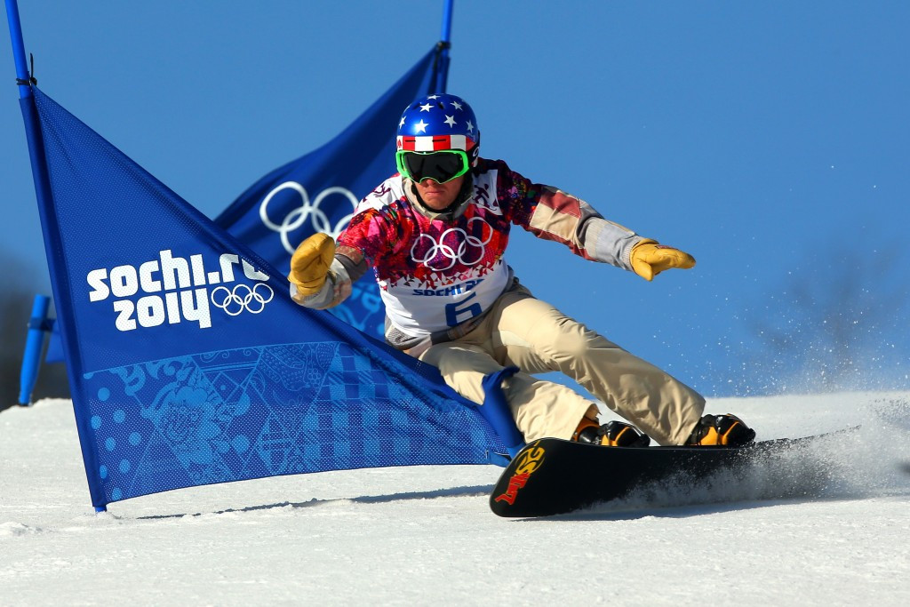 Justin Reiter competing at Sochi 2014 ©Getty Images
