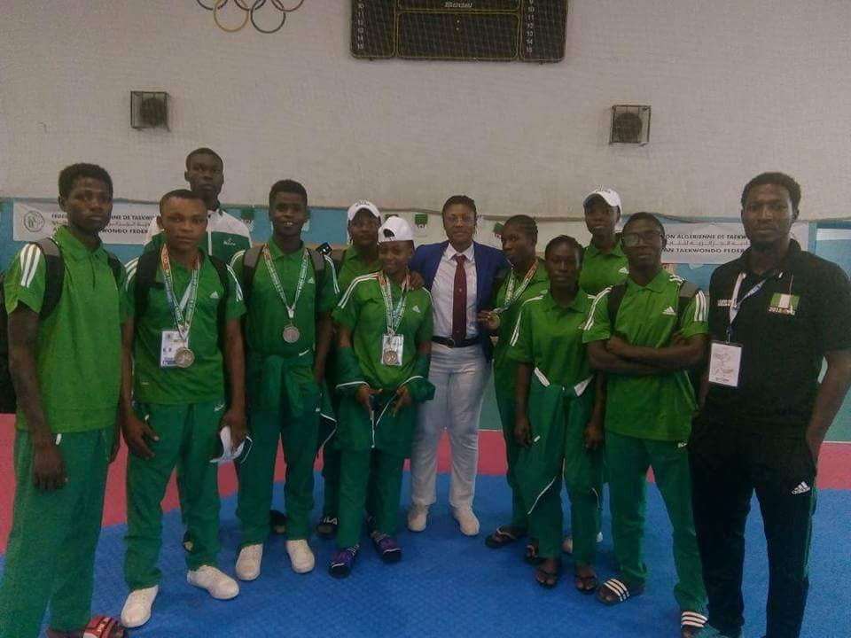 Nigerian Taekwondo Federation President praises African Youth Games contingent