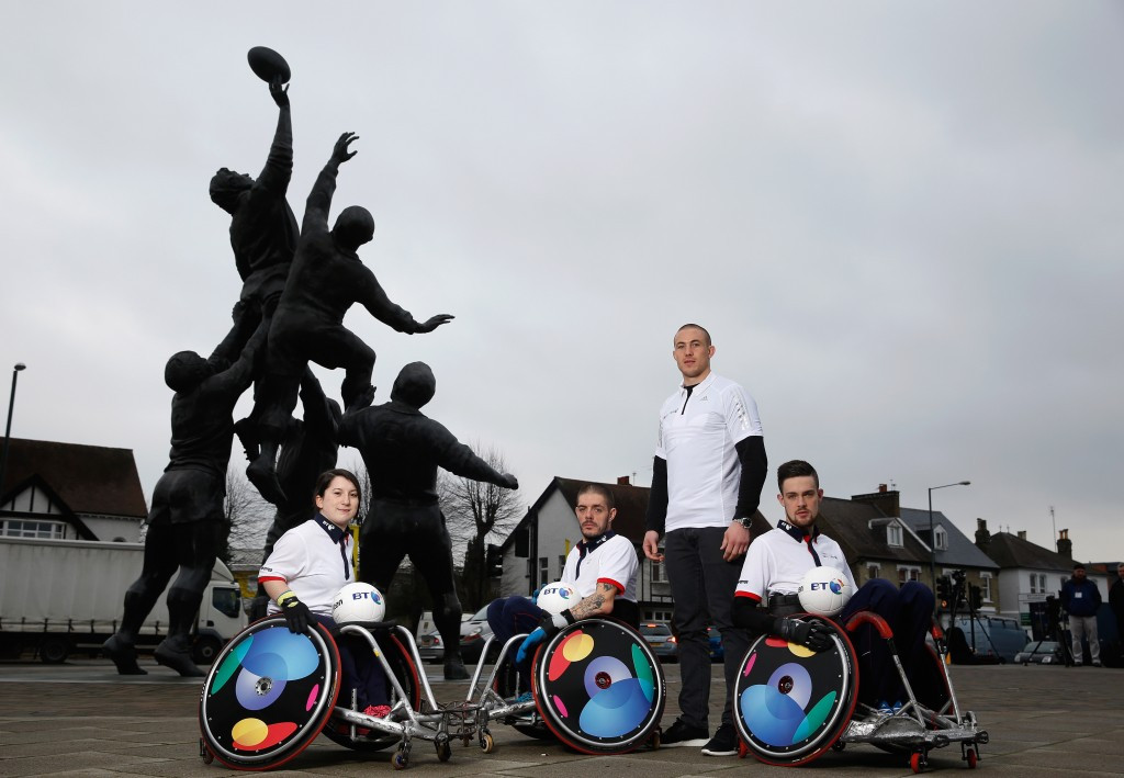 First ever Wheelchair Rugby National Championships to take place in London's Olympic Park