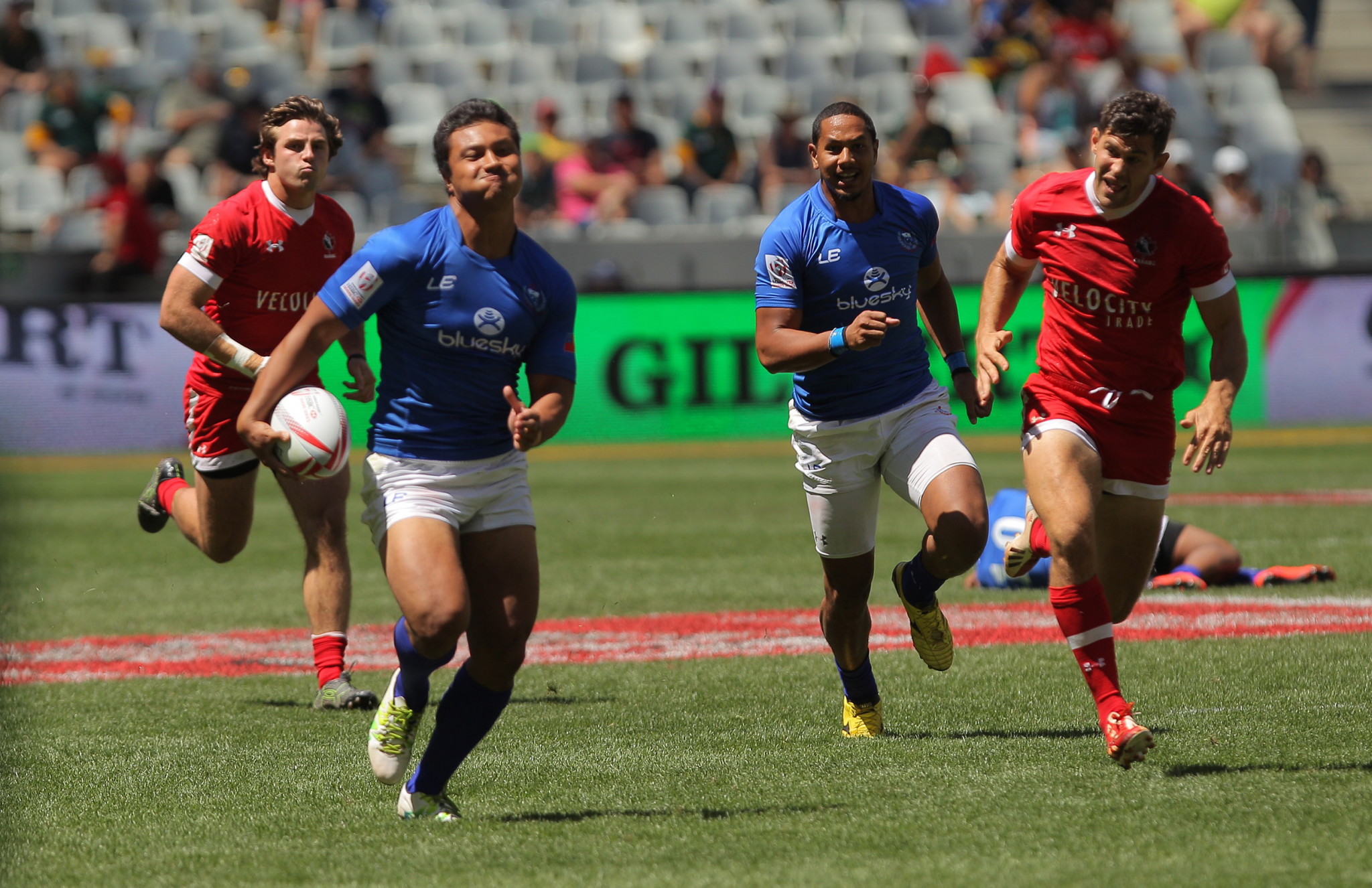 Samoa's Langkilde charged over tunnel incident which left Welsh player with broken bones at Rugby World Cup Sevens