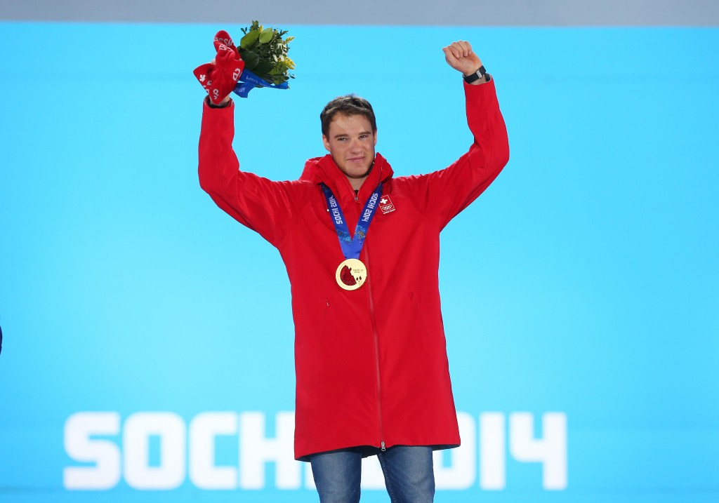 Dario Cologna of Switzerland won double gold at Sochi 2014