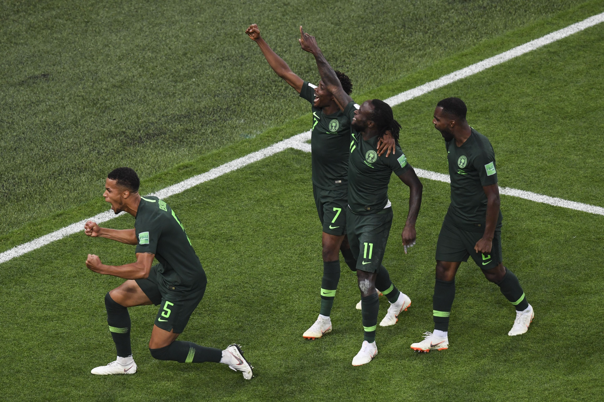 Nigeria risked suspension from FIFA over the crisis ©Getty Images
