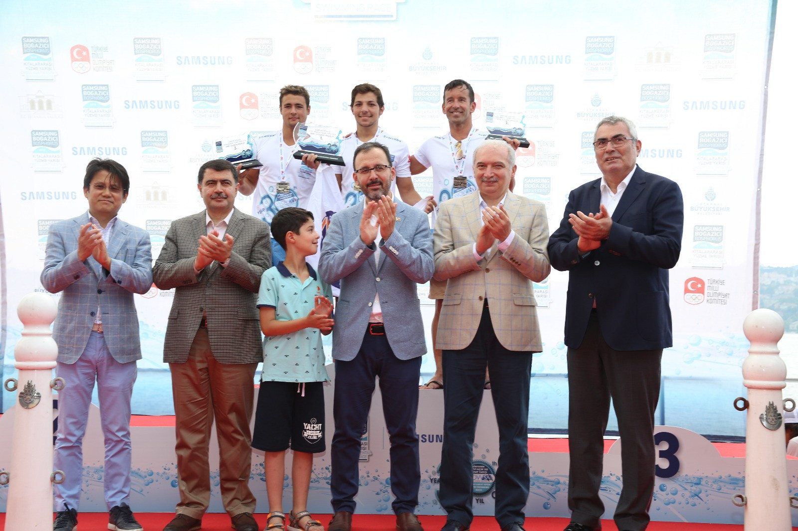 The winners of the race were congratulated by officials from both the Turkish Government and TOC ©TOC