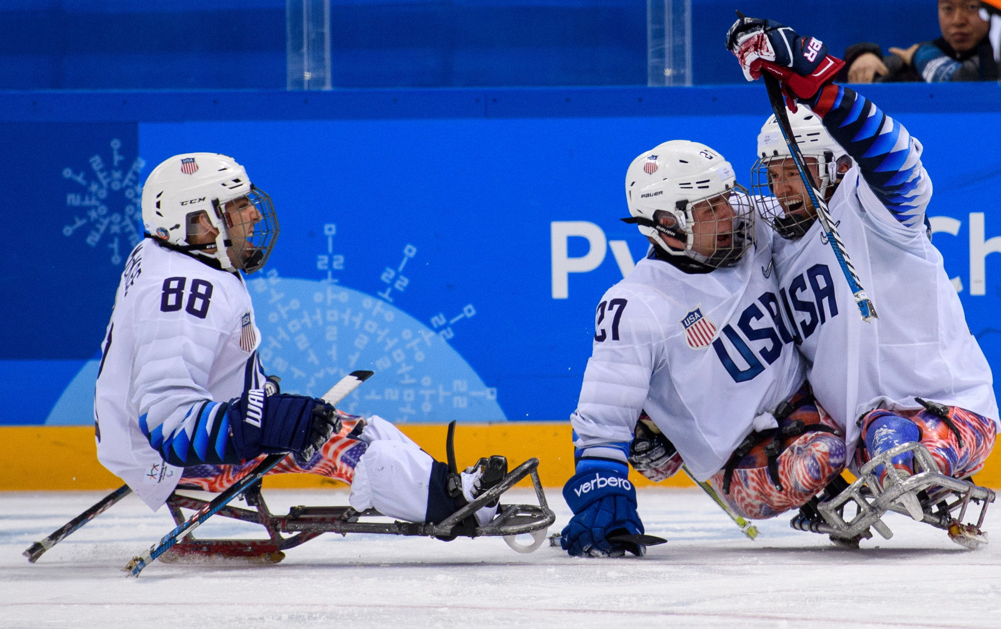 USA Hockey have announced their men's Para-ice hockey squad for the 2018-2019 season ©USA Hockey