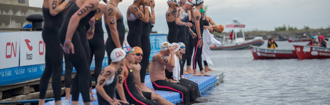 The fifth event of the FINA Marathon Swim World Series takes place tomorrow on Lac St-Jean in Quebec ©FINA
