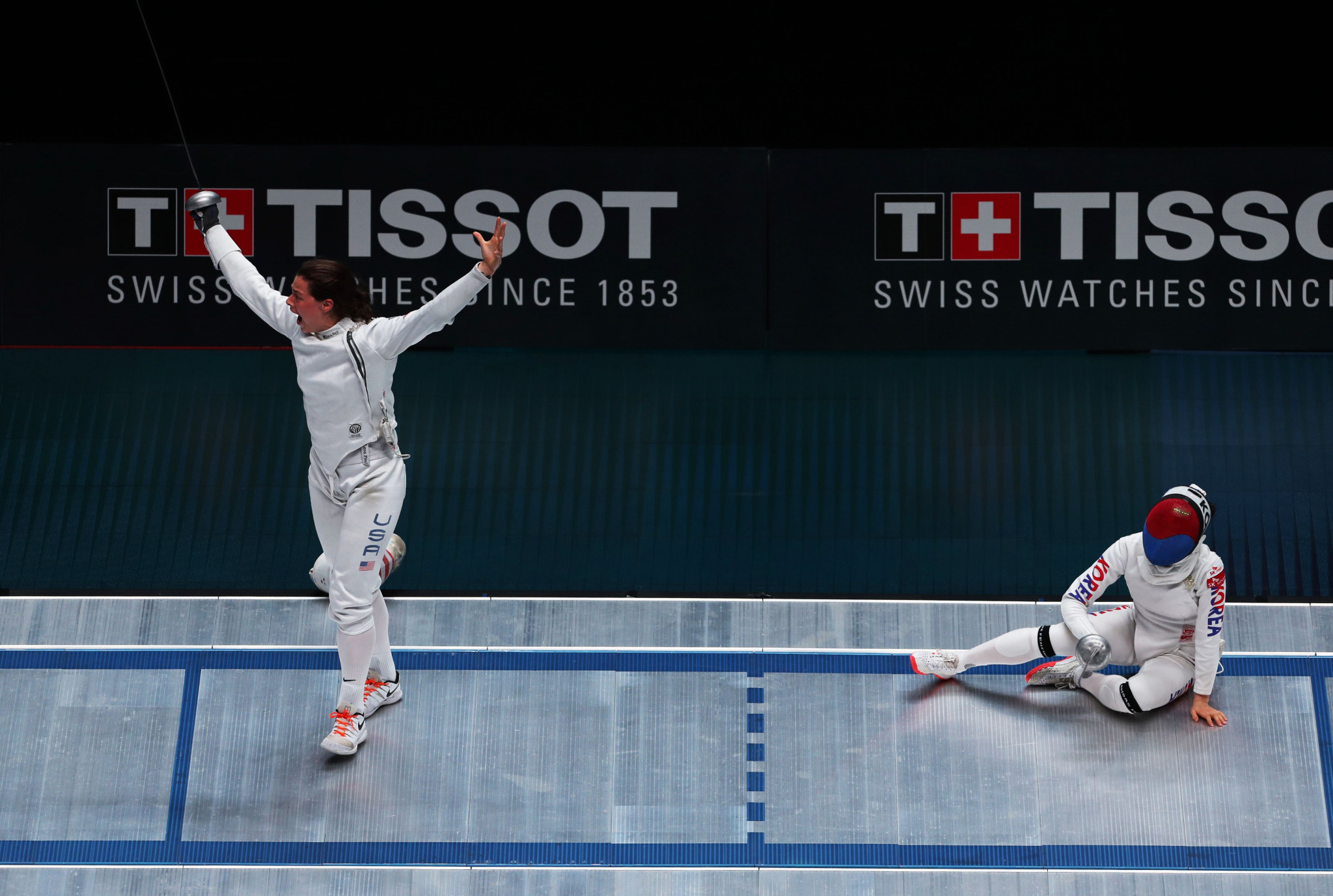 United States take gold to claim first women's team épée medal at FIE Fencing World Championships