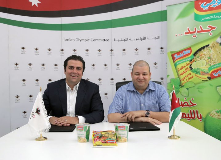 Jordan Olympic Committee announce new sponsorship deal with Trading Institute