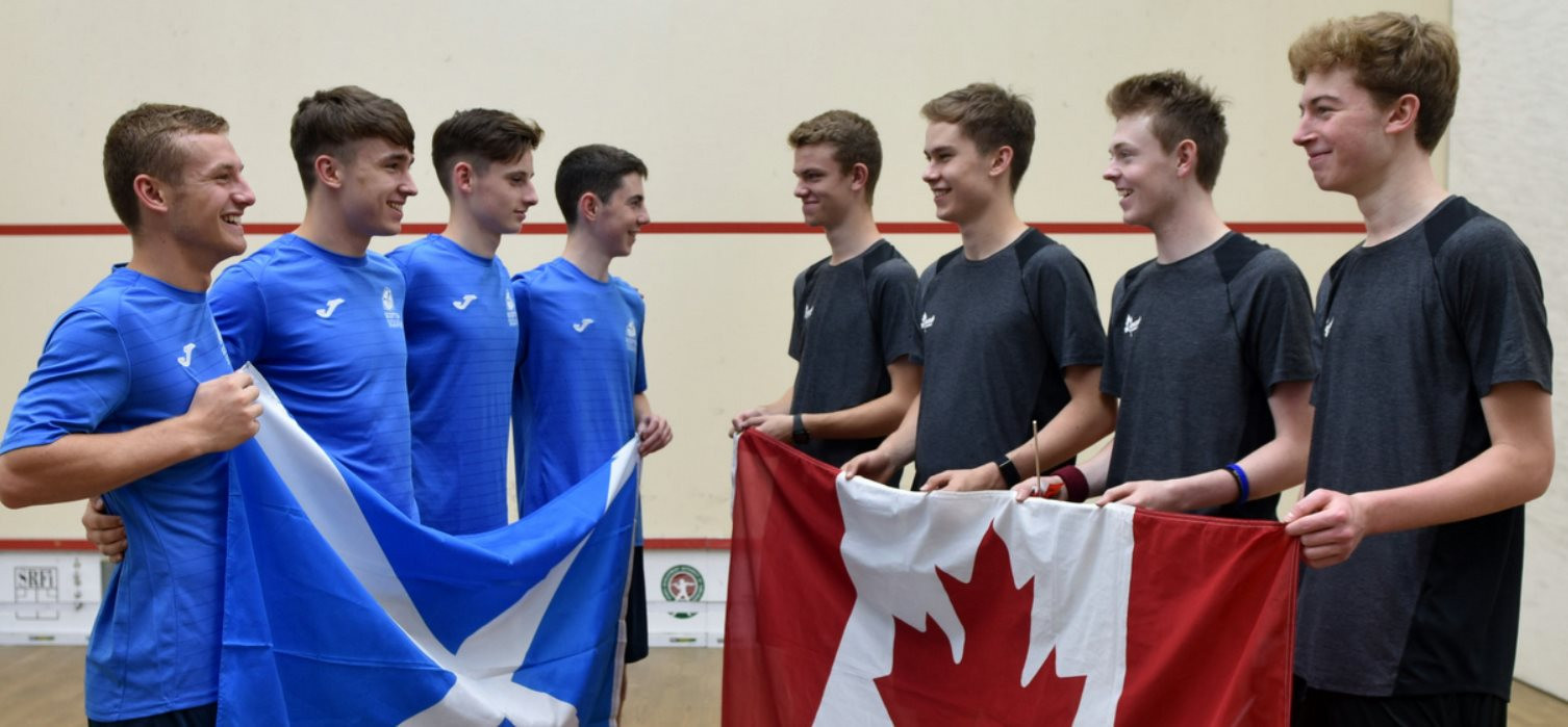 Second seeds Canada top Group B at WSF Men's World Junior Team Championships