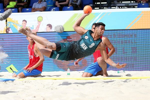 Croatia cruise through group stages in defence of men's Beach Handball world title