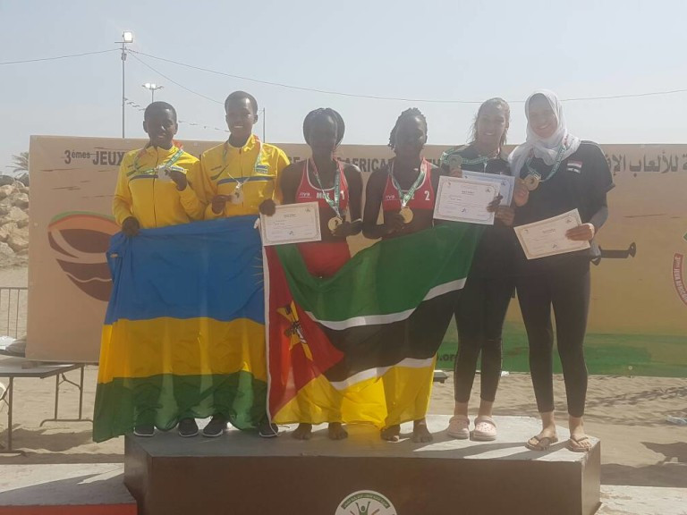Mozambique earn beach volleyball double at African Youth Games
