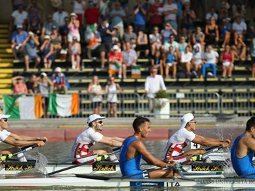 Batista shows class as 2018 World Rowing Under-23 Championships start in Poznan