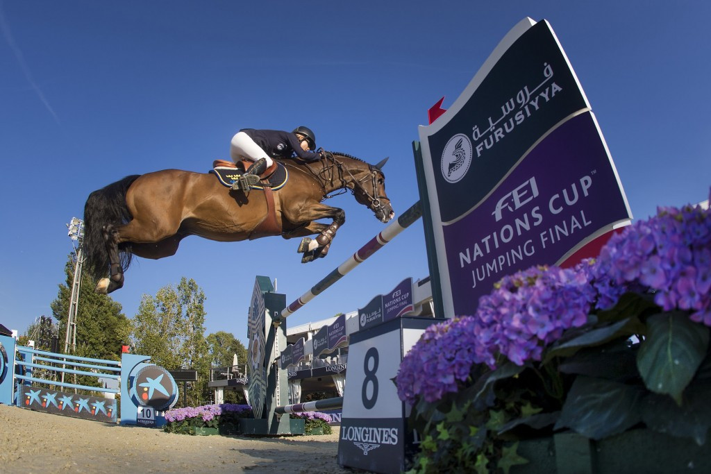 Dutch aiming for FEI Nations Cup Jumping Final double in Barcelona