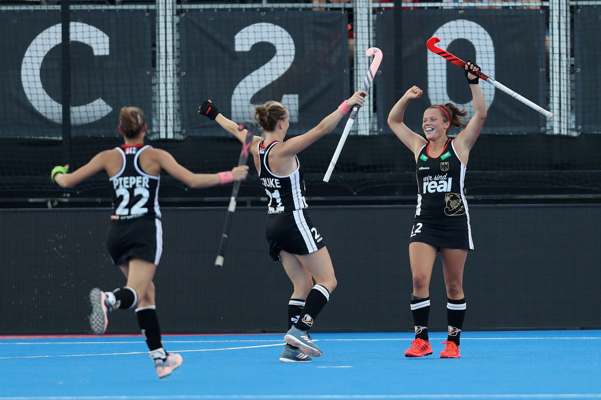 Germany beat Argentina to gain second win at FIH Women's Hockey World Cup