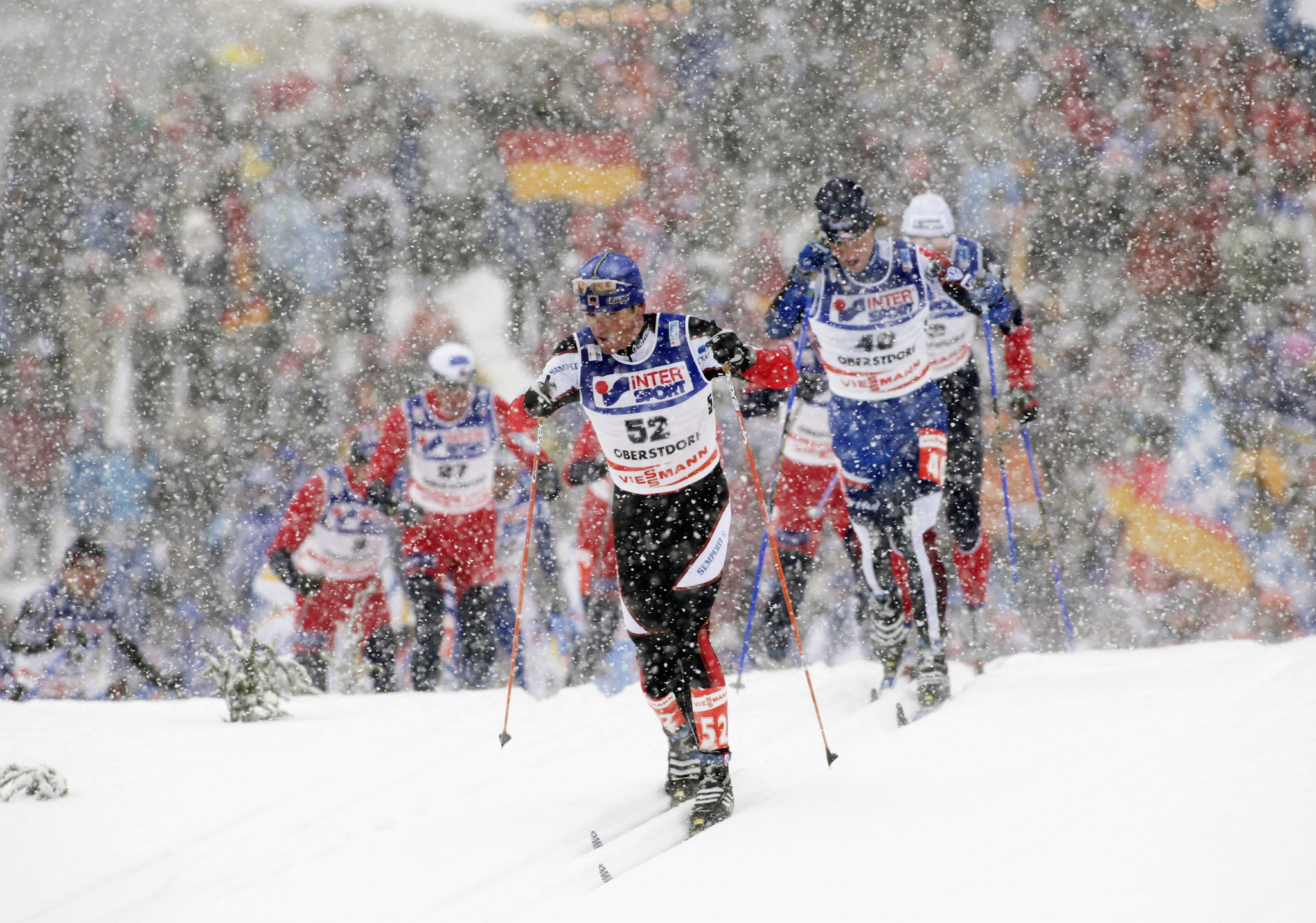 The FIS Nordic World Ski Championships were last held in Oberstdorf in 2005 ©Getty Images