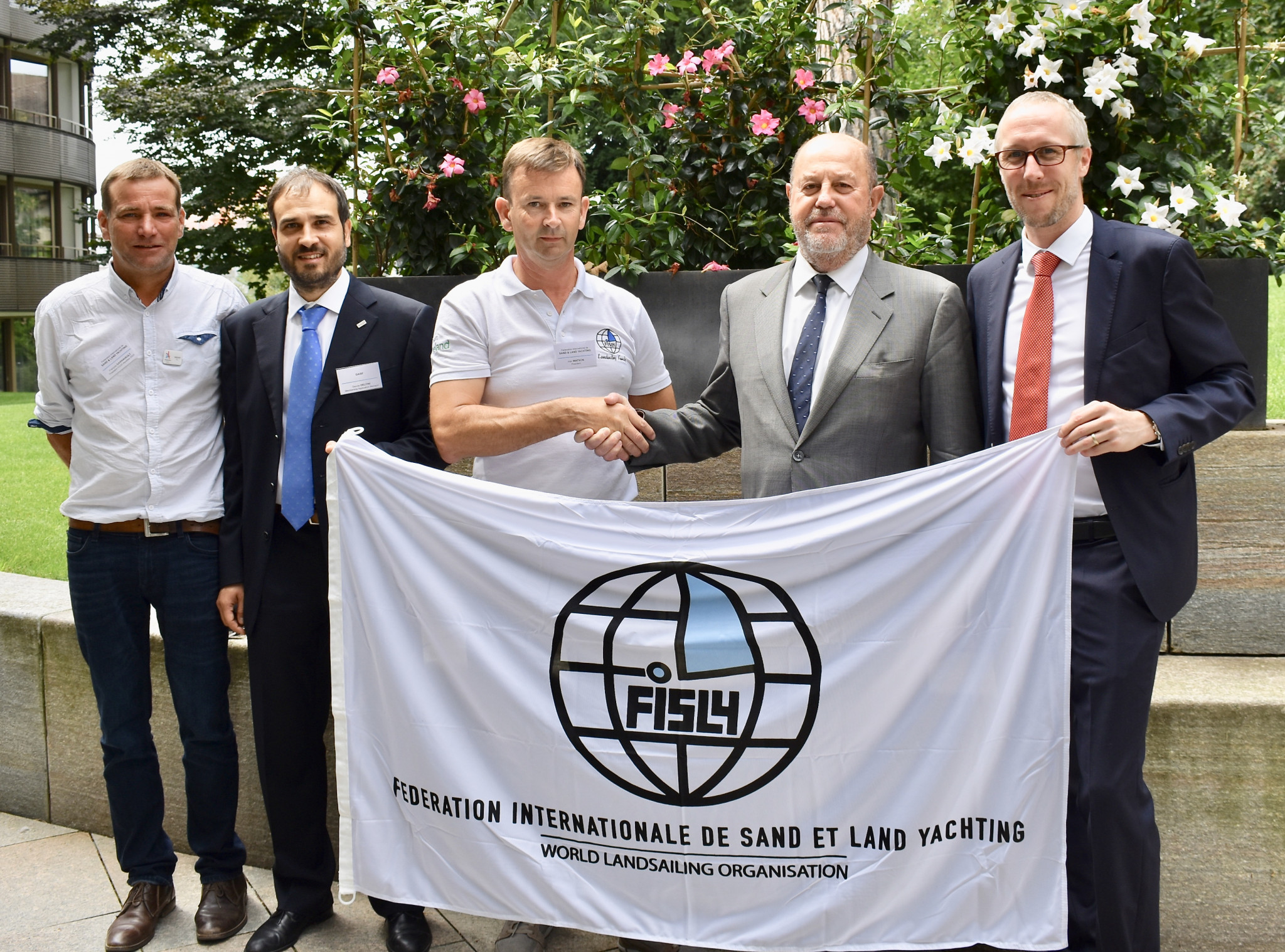 The International Land and Sand Yachting Federation has been given observer status by GAISF, meaning they are on their way to becoming a full member ©GAISF
