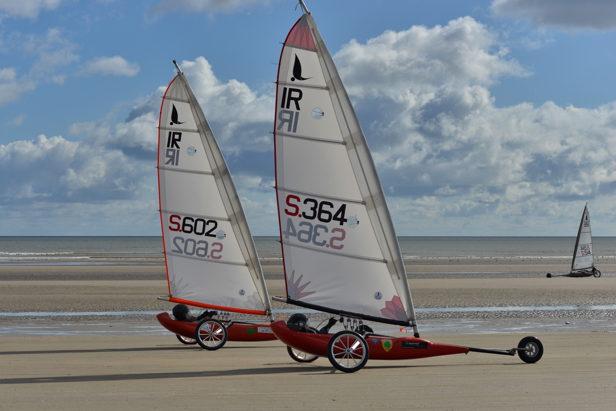 The 52nd edition of the European Landsailing Championships were held in England and Ireland last year ©GAISF