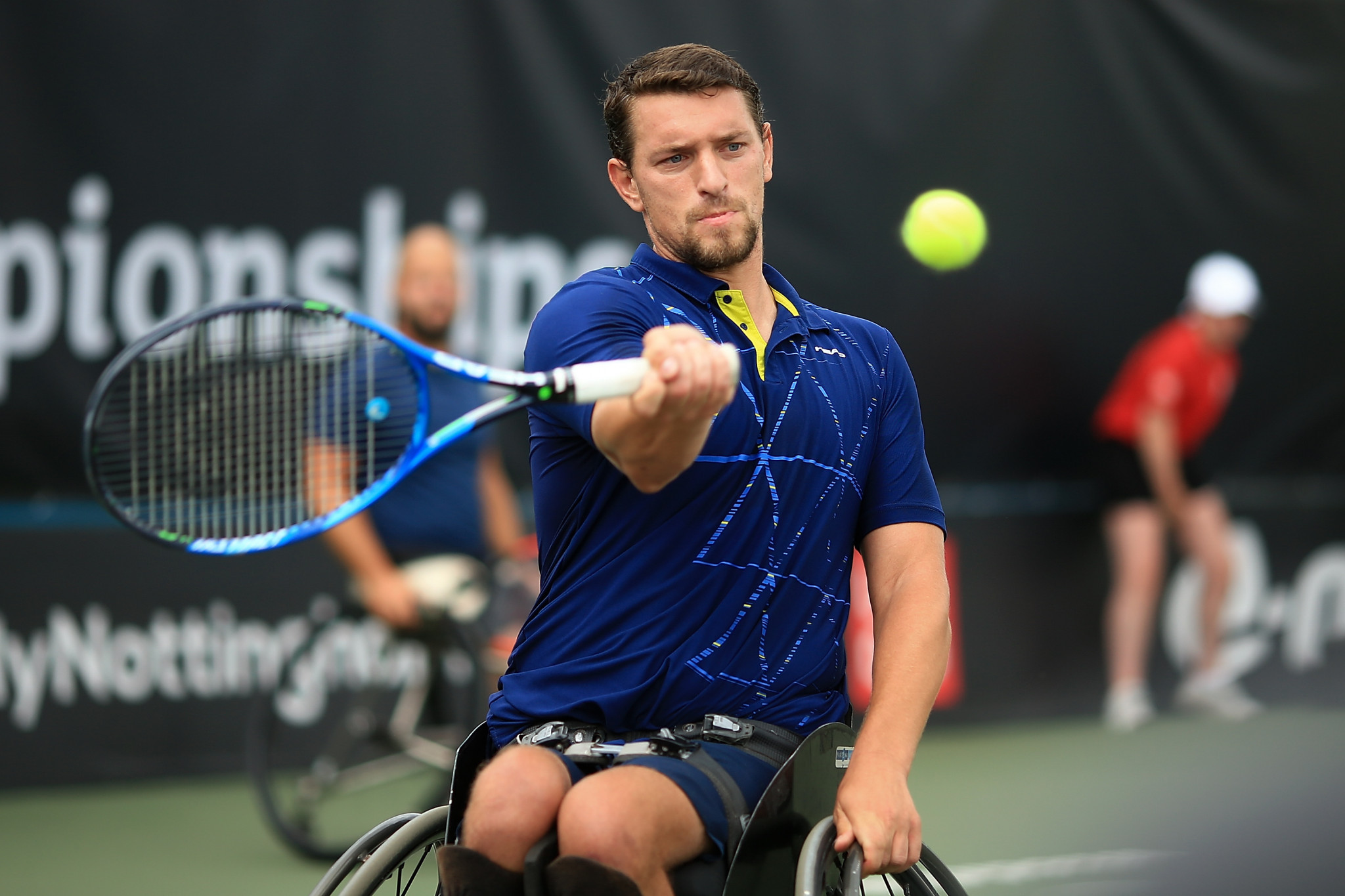Home favourite through to quarter-finals at Belgian Open Wheelchair Tennis Championships