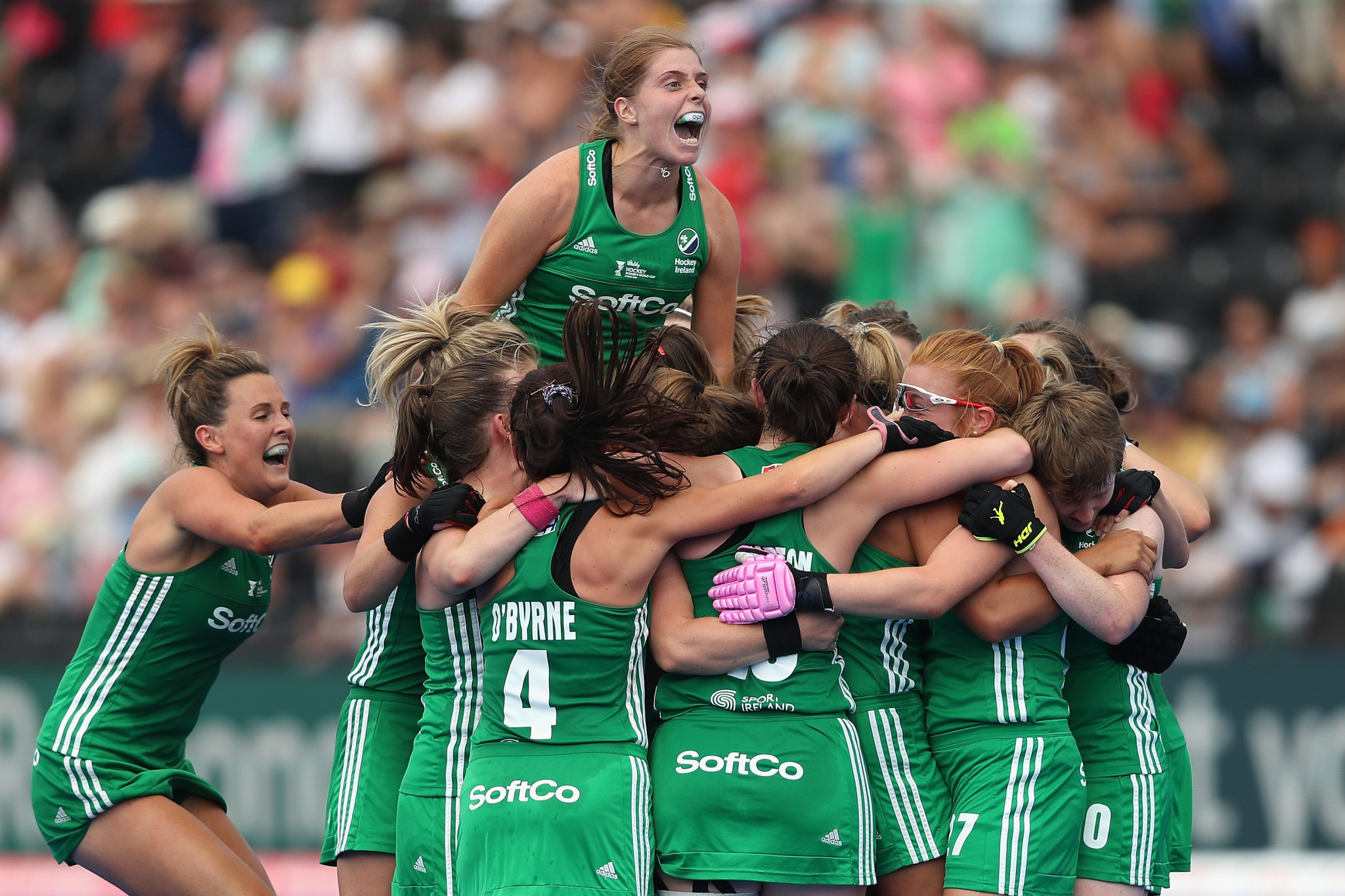 Ireland pile pressure on England with historic win over India at Women's Hockey World Cup