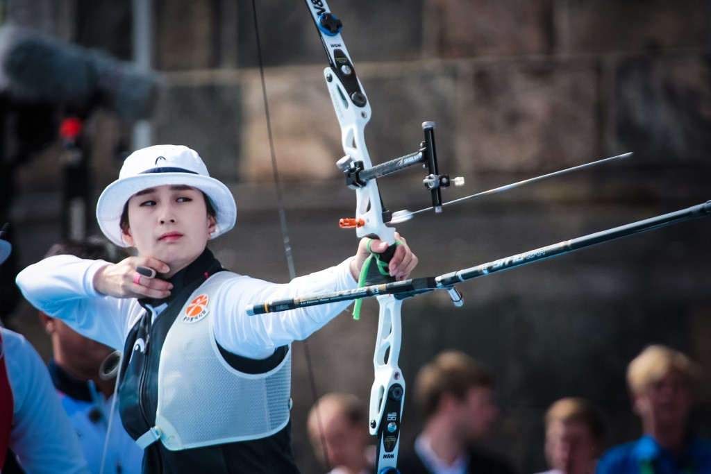 South Korea take team gold medal at Rio 2016 archery test event