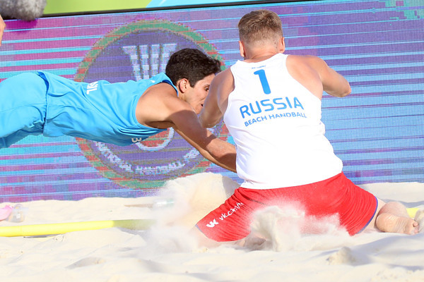 Spain and Croatia earn quarter-final places at Beach Handball World Championships