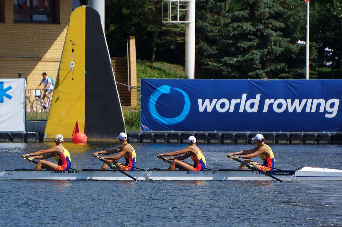 Romanian and Russian crews reach women's four final at World Rowing Under-23 Championships