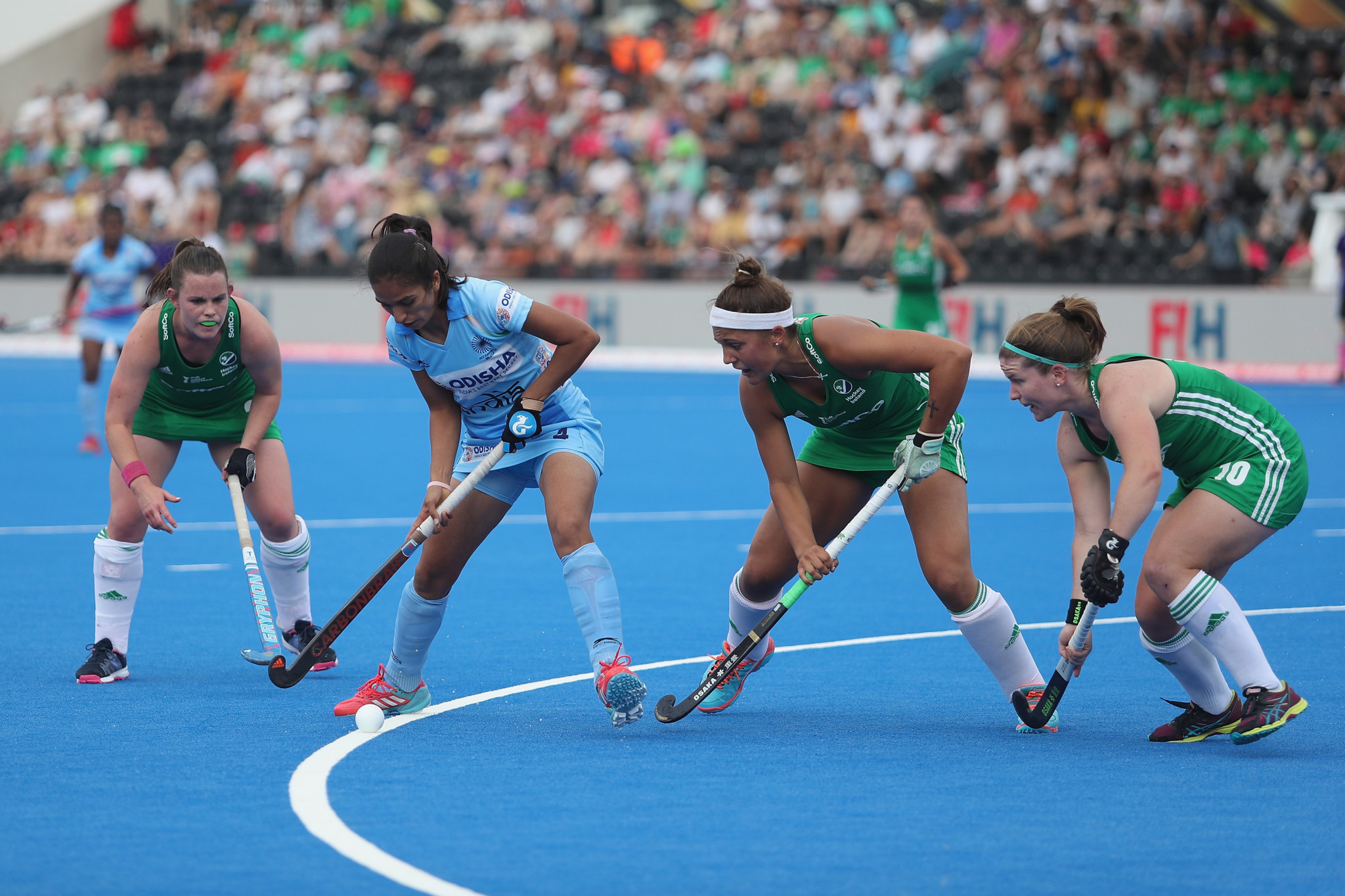 The ongoing Hockey World Cup is among the events backed by UK Sport ©Getty Images