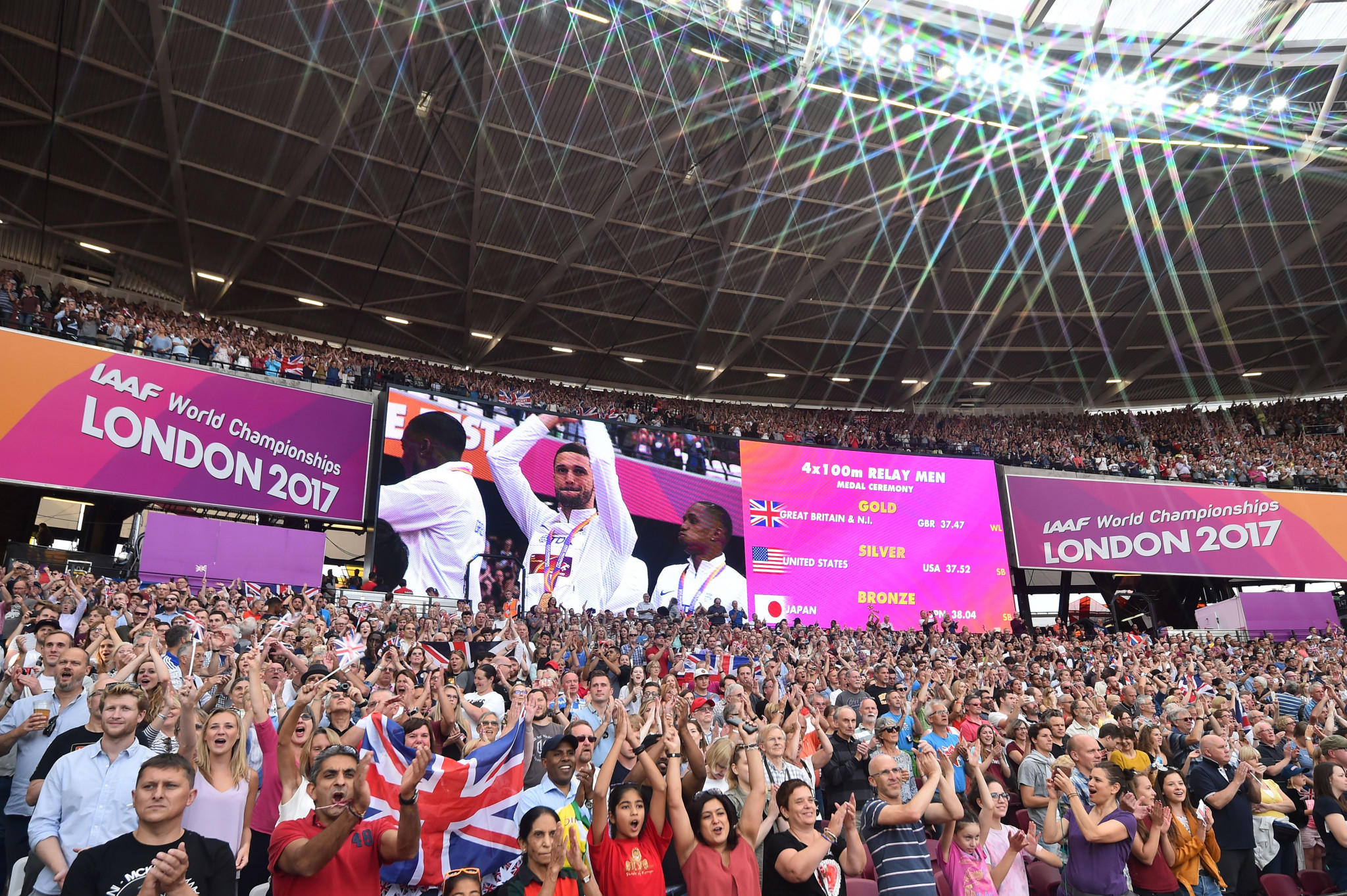 UK Sport claim £134 million generated from hosting events in legacy venues since London 2012