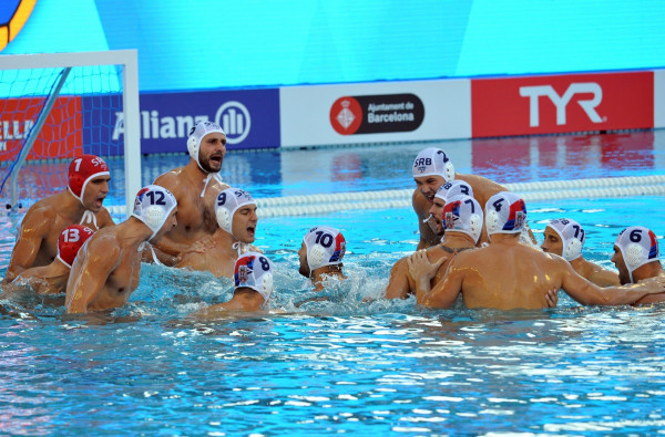 Defending champions Serbia and hosts Spain make final of European Water Polo Championships