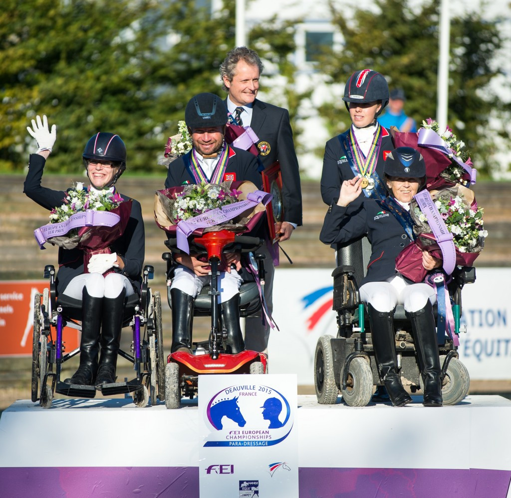 Britain retain European Para-equestrian Dressage Championship team title in Deauville